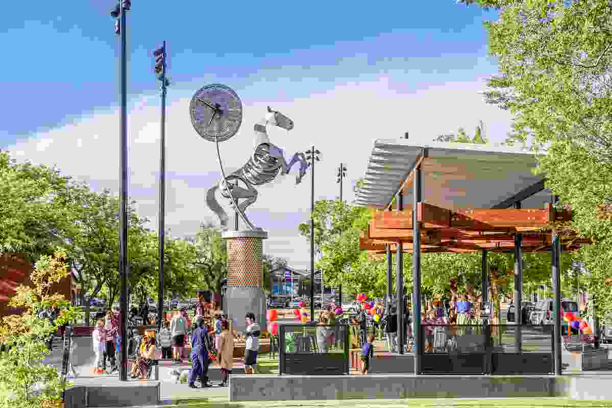 Pride of Melton by Outlines Landscape Architecture.