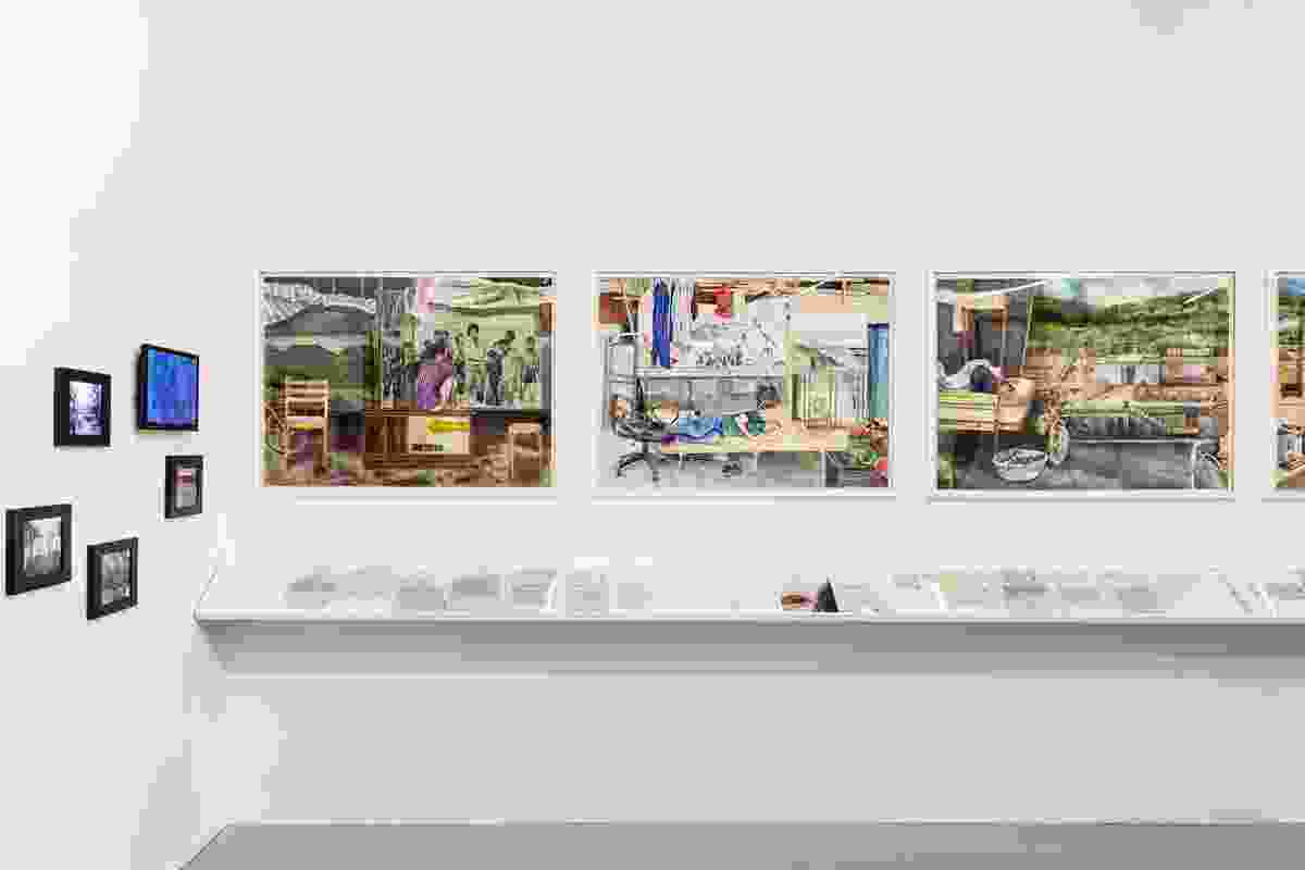 Tiffany Chung: Installation view (2018) at Artspace for the 21st Biennale of Sydney. Presentation at the 21st Biennale of Sydney was made possible with generous assistance from Glen and Sakie Fukushima; and Yoshiko Mori.