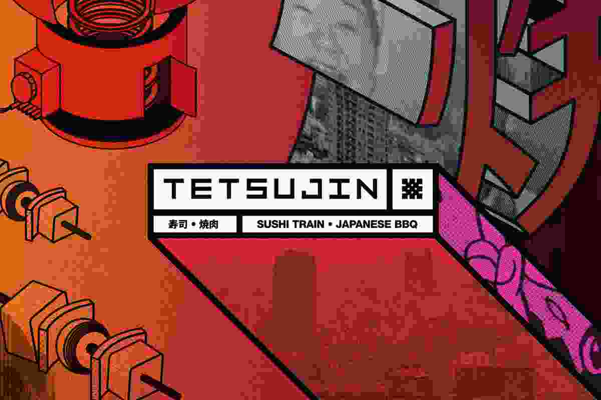 Tetsujin Bar and Restaurant (Melbourne, Victoria) by Principle Design