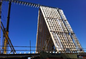 Shigeru Ban's Carboard Cathedral in Christchurch.