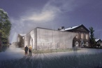 Transparent, ethereal pavilion wins Pentridge Prison design competition