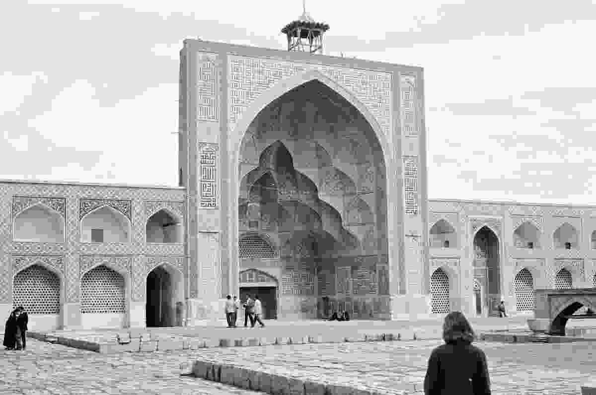 Utzon's photograph from Iran, 1959.