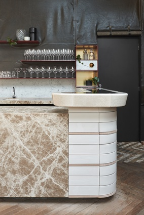 Smalls by Fiona Lynch Office, shortlisted for Best Bar Design.