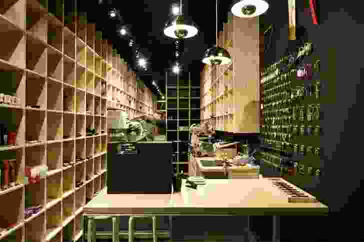 Cobbler Caballero, an early retail commission in Potts Point by Stewart Hollenstein.