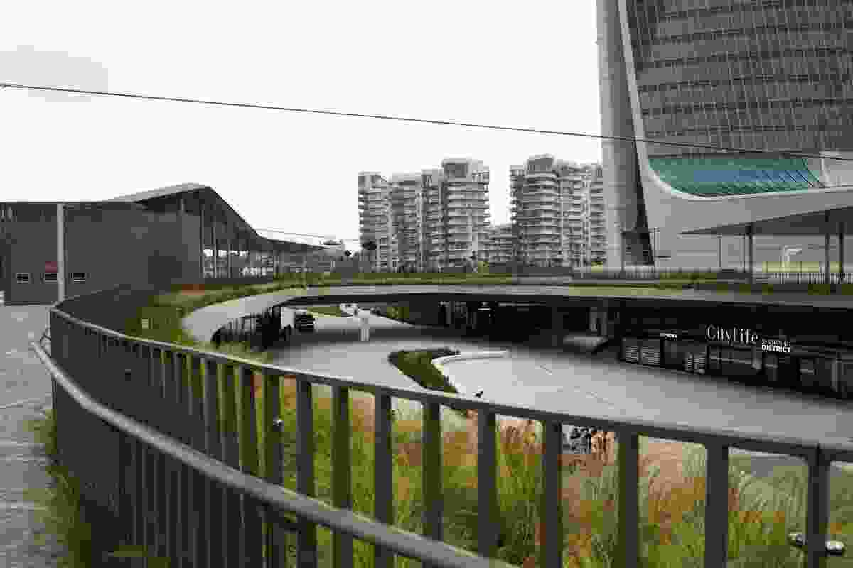The City Life district in Milan