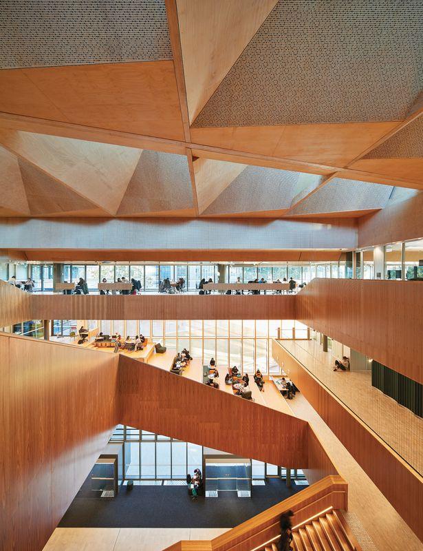 Monash University Learning And Teaching Building Architectureau