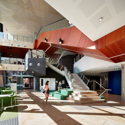 NeW Space by Lyons Architecture and EJE Architecture features a range of flexible learning spaces.