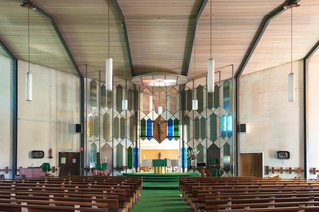 Church interior, Mary Immaculate Church.