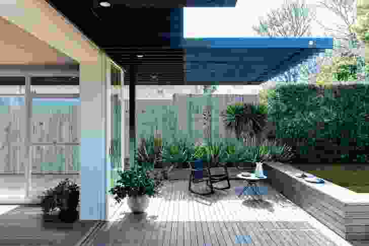 The architects routinely consider a project's garden and outdoor living areas to be of utmost importance.