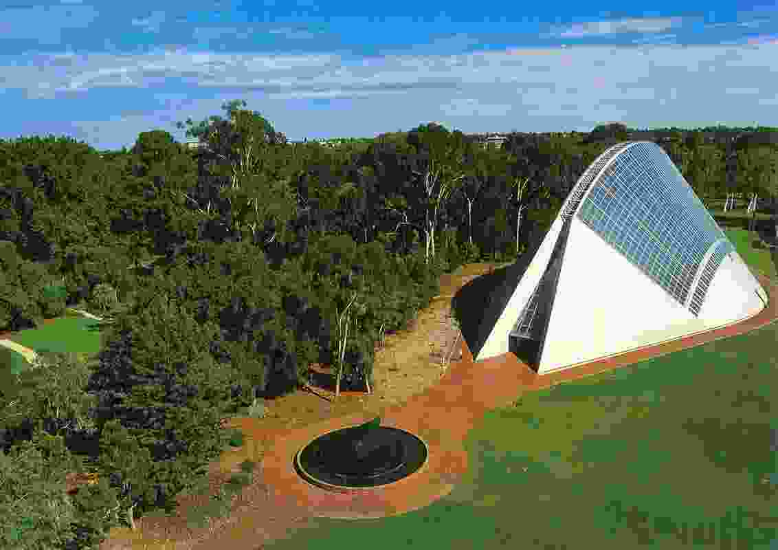 The Bicentennial Conservatory Adelaide by Guy Maron Architects.
