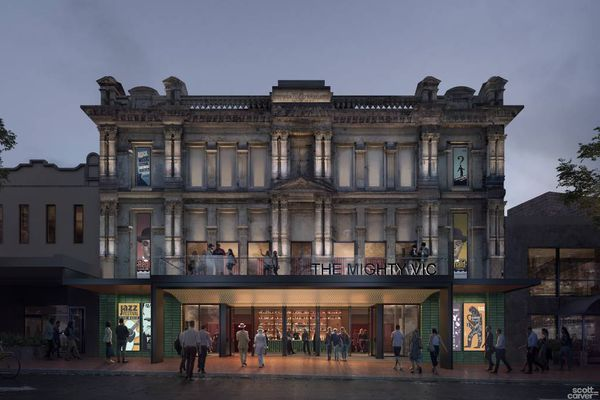 The design for a revitalized Victoria Theatre in Newcastle by Scott Carver Architects.