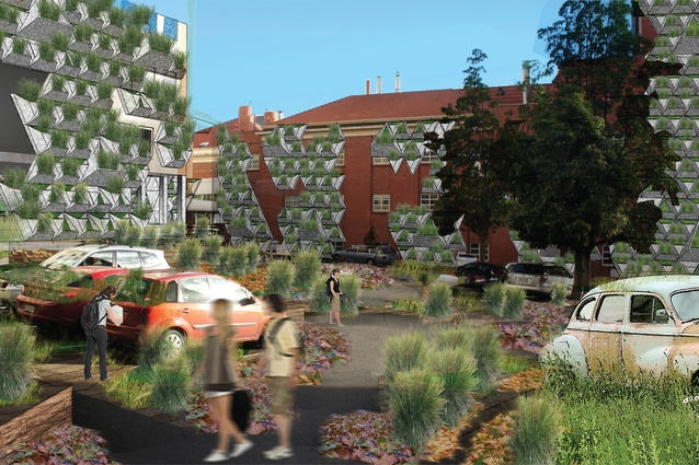 """After: """"Invasion of Nature"""" at the Royal Adelaide Hospital site by Vu Ngoc Hung."""
