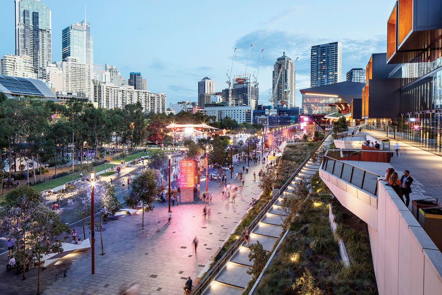 Darling Harbour Transformation by Hassell / Hassell and Populous