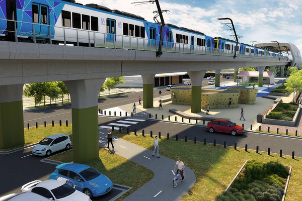 The Office of the Victorian Government Architect has shown support for the Melbourne 'sky rail' proposal.