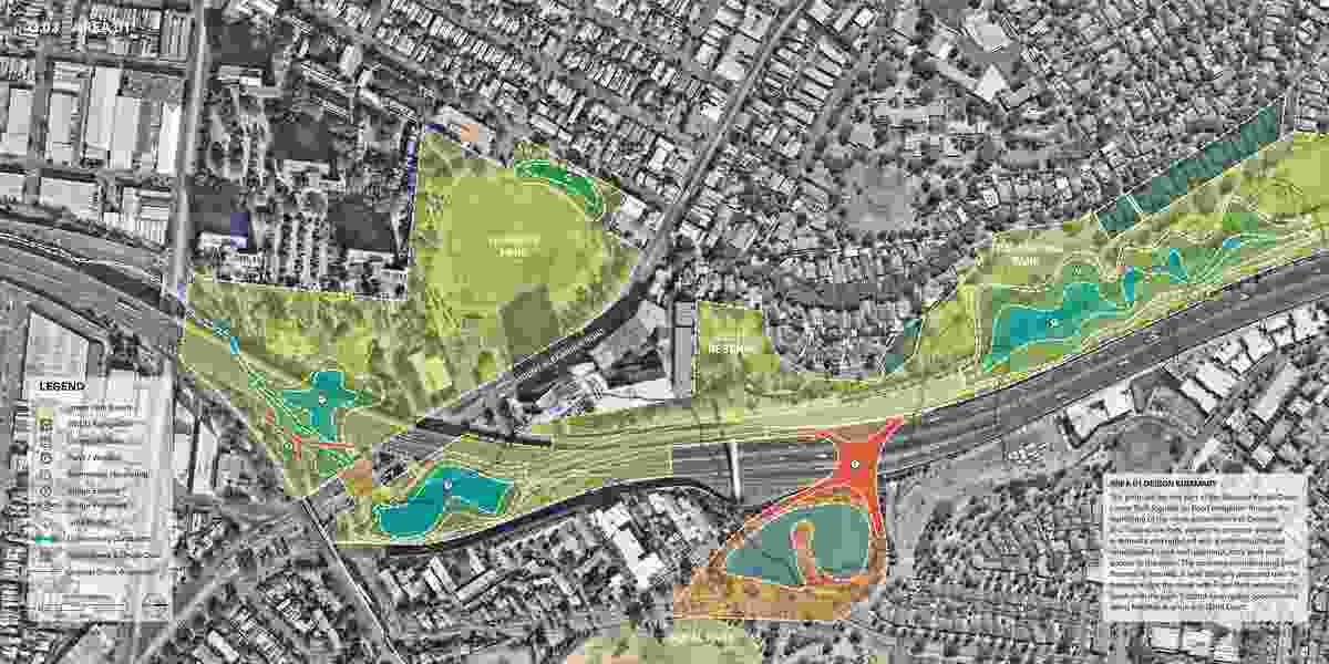 Chain of Ponds - An Action Plan for Moonee Ponds Creek by Site Office.