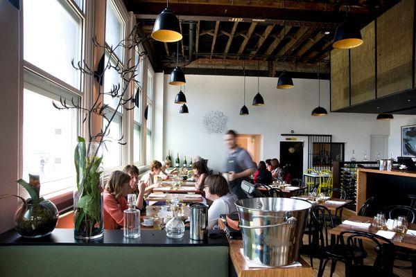 Albert St Food & Wine by Fiona Drago Architect.
