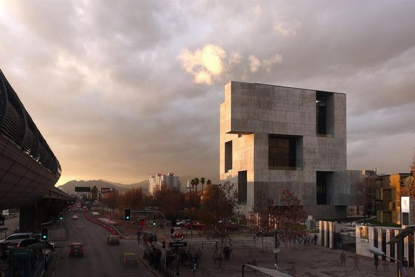 The Innovation Centre for the Universidad Católica de Chile by Elemental.