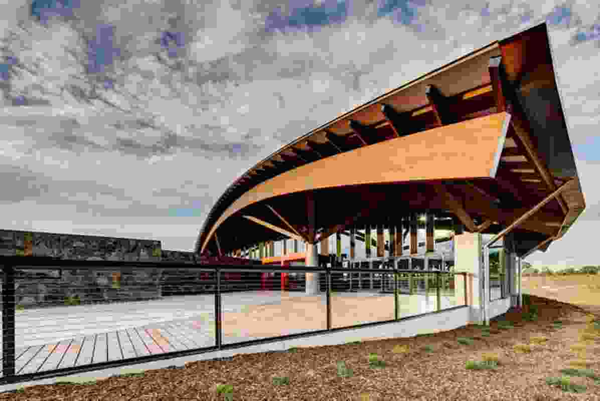 Village Centre: National Arboretum Canberra by Tonkin Zulaikha Greer and Project Coordination.