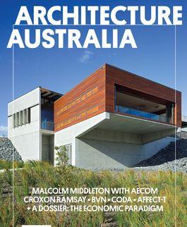 Architecture Australia, May 2012