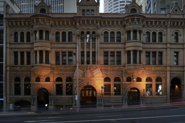Rockpool sits inside the 113-year-old Burns Philp building in Sydney.