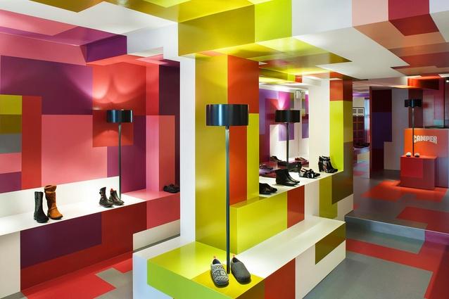 Camper shop Zurich (2012) by Alfredo Häberli Design Development.