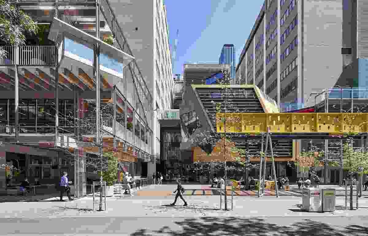 New Academic Street – Lyons with NMBW Architecture Studio, Harrison and White, MvS Architects and Maddison Architects.