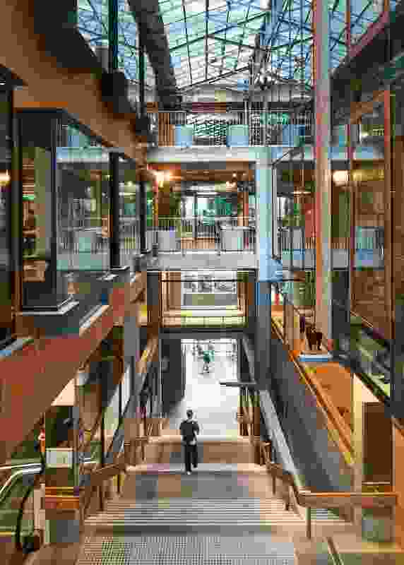 New Academic Street, RMIT University by Lyons with NMBW Architecture Studio, Harrison and White, MvS Architects and Maddison Architects.