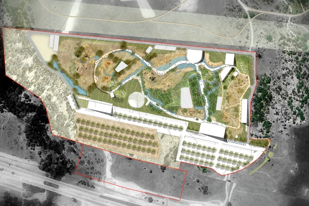 The proposed Sydney Zoo masterplanned by Aspect Studios will be located in the Bungarribee precinct in the Western Sydney Parklands.