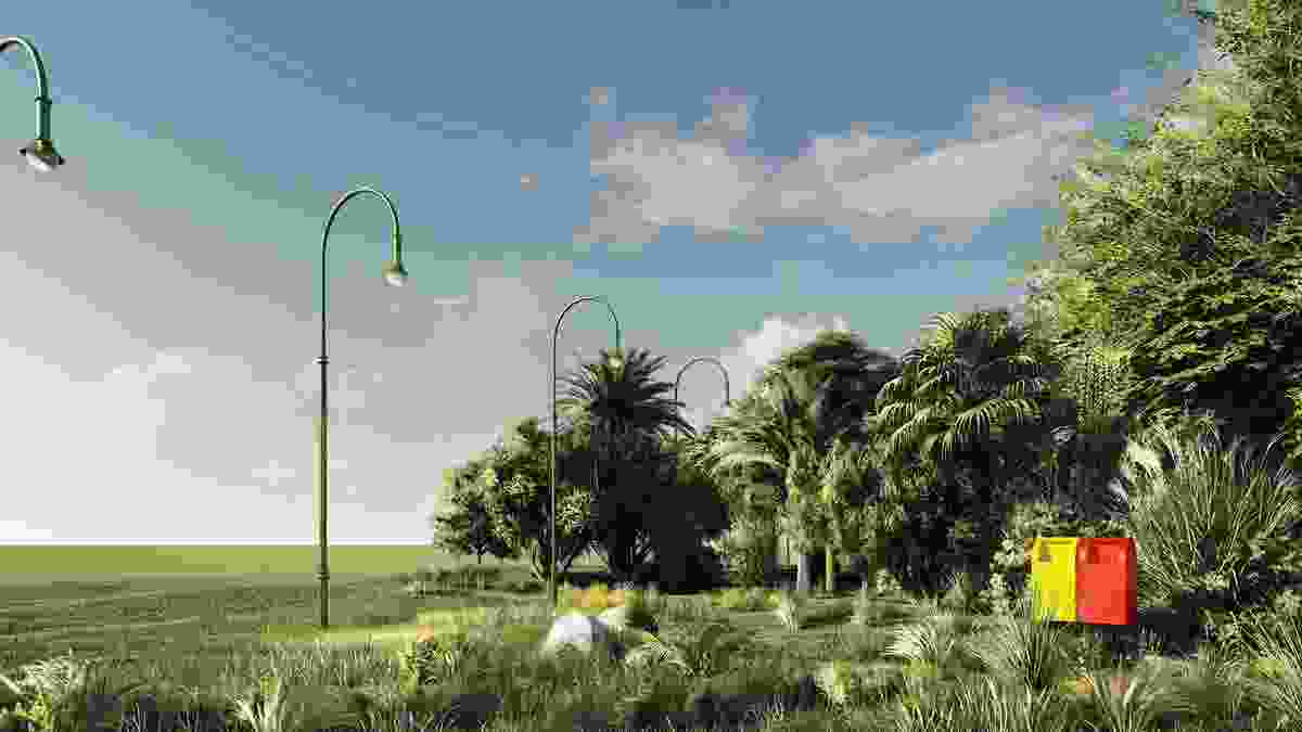 Parks and Restitution by Steven Chu, Nikola Sormaz, Kate Johnson and  Alessandro Antoci