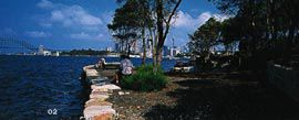 The old slipway at Longnose Point, Sydney, by Bruce Mackenzie and Associates. Image: Peter Bennetts.