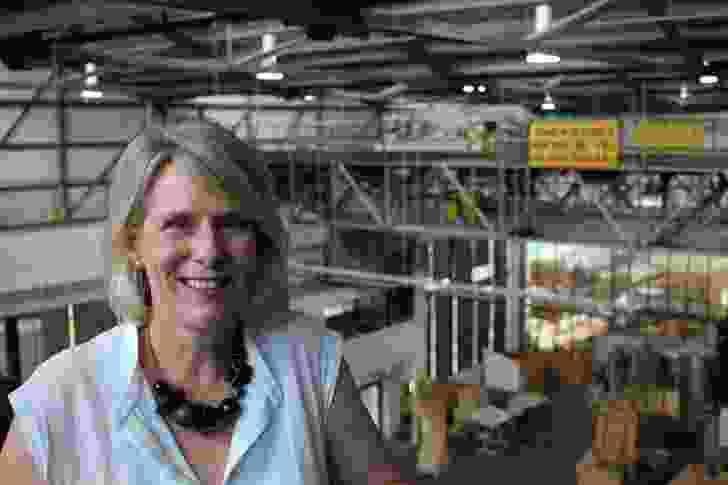 UTAS Head of the school of architecture and design Professor Kirsten Orr.