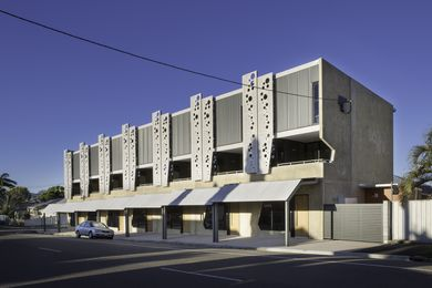 The Hub on Echlin by Architects North received an award for Residential Architecture – Multiple Housing at the 2016 Queensland Architecture Awards.