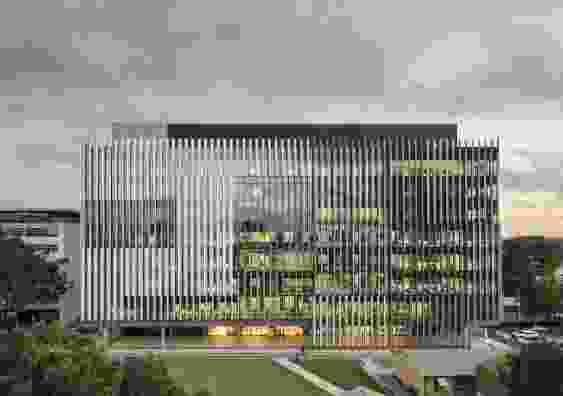 UNSW Hilmer Building – Grimshaw, HDR (associate architects).