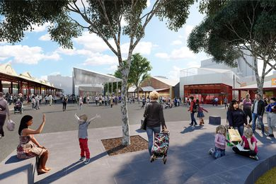 Queen Victoria Market precinct renewal by NH Architecture.