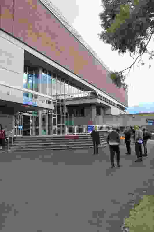 Resource Materials Centre, Hobart College by Tasmanian Government, Department of Public Works, John Gott and Ben Ryan.