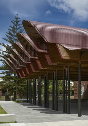 Joynton Avenue Creative Centre by Peter Stutchbury Architecture.