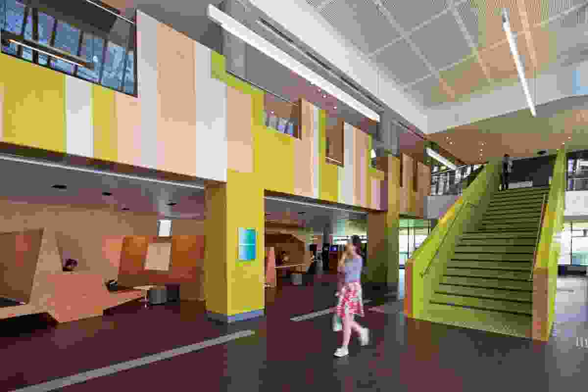 Victoria University Learning Commons and Exercise Sports Science Project by John Wardle Architects.