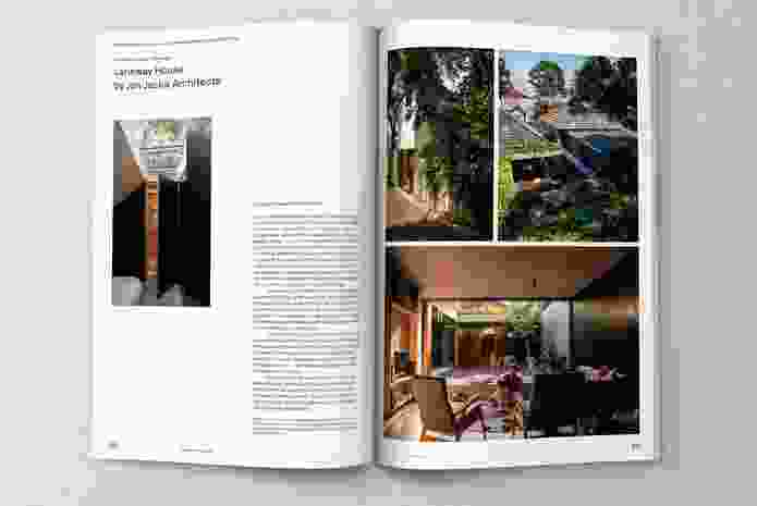 Laneway House by Jon Jacka Architects in Architecture Australia November/December 2018.
