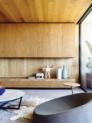Joinery details at Concrete House are consistent with the architectural intent of the dwelling.