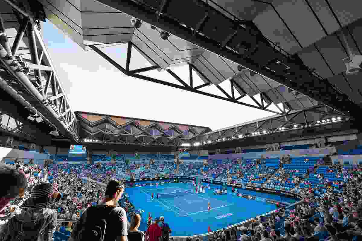 Margaret Court Arena by NH Architecture + Populous.
