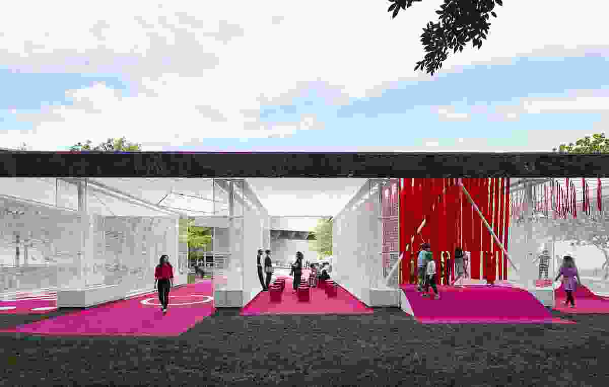 Rear view the 2016 NGV Architecture Commission, Haven't you always wanted…? by M@ Studio Architects.