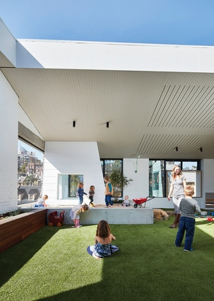 East Sydney Early Learning Centre by Andrew Burges Architects in association with City of Sydney.
