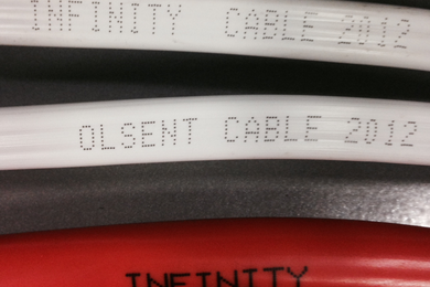 The Infinity cabling was recalled in August 2014 after it was found to have a poor quality plastic insulation layer that could pose a fire risk.