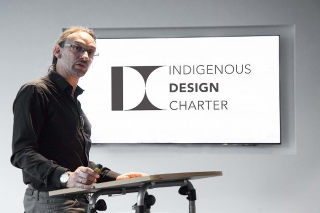 Jefa Greenaway presents the  International Indigenous Design Charter.