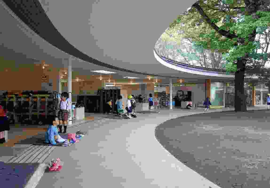 Fuji Kindergarten by Tezuka Architects.