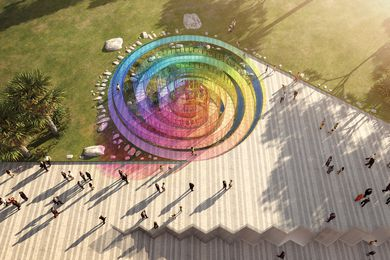 The Rainbow Serpent by Arthur Stefenbergs, Lucian Racovitan, Keith McGeough and Ovidiu Munteanu.