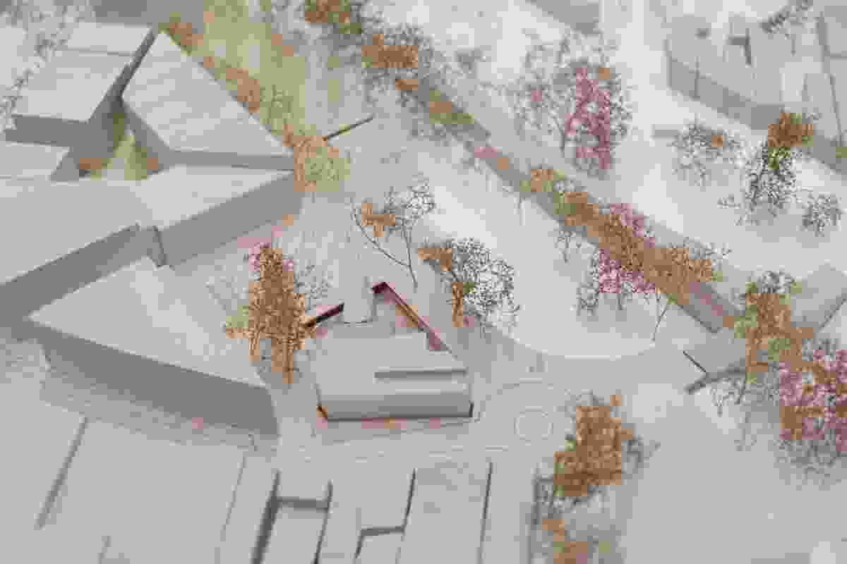 Turramurra Community Hub Masterplan by CHROFI in association with Ku-ring-gai Council.