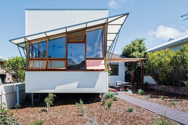 Rather than demolish the original cottage, the designers and their clients opted to refresh