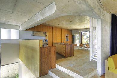 Castlecrag House by Neeson Murcutt Architects.