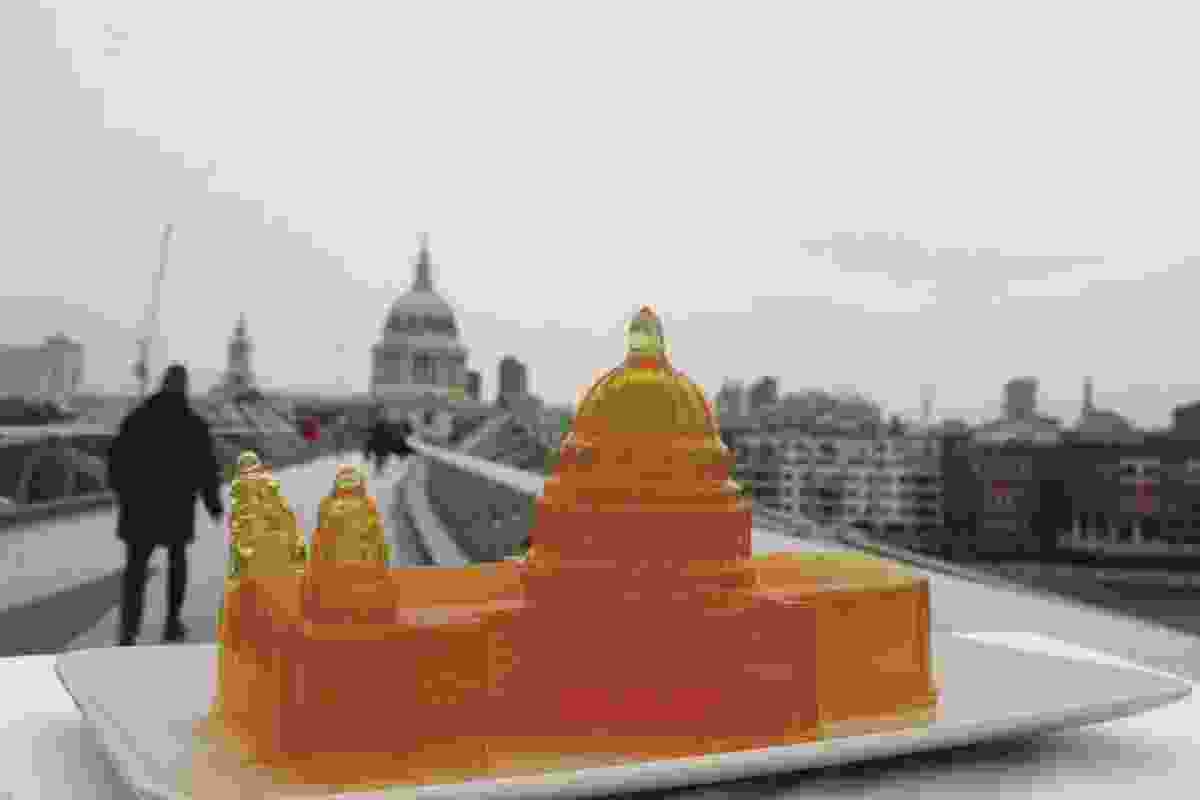 Jelly architecture of St Paul's Cathedral.